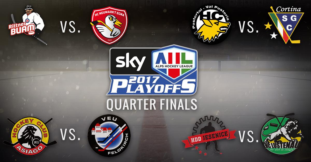AHL_Playoffs2017_Viertelfinal_Paarungen