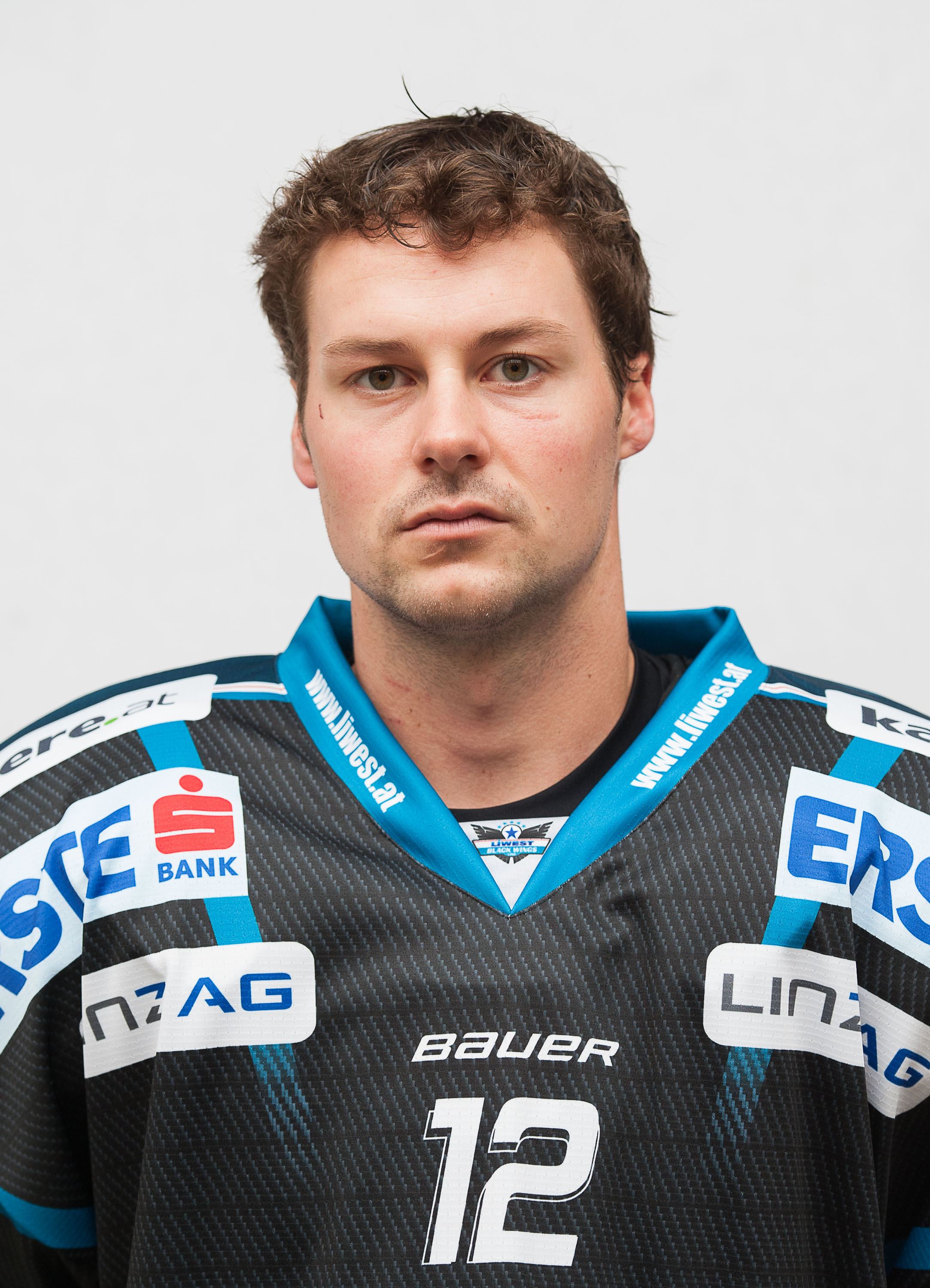 AUT, Liwest Black Wings Linz – Portraitfoto Team 2014/15