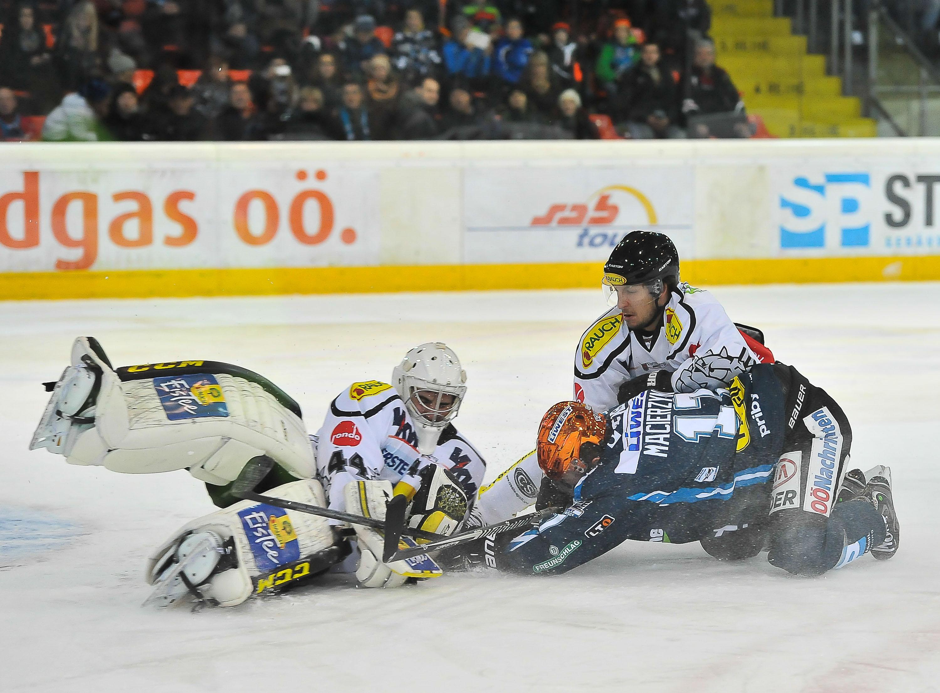 AUT, EBEL, Liwest Black Wings Linz vs Dornbirner EC