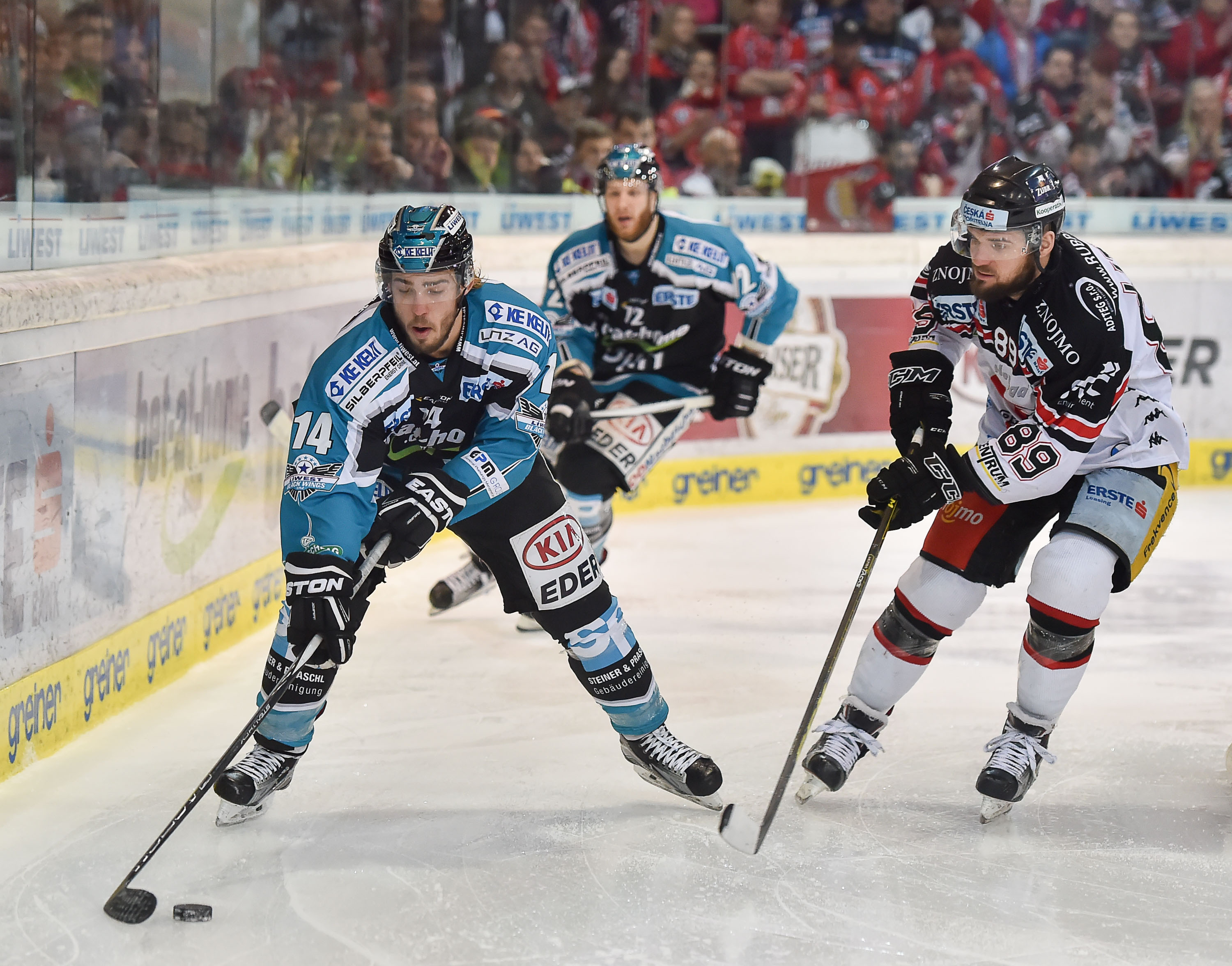 AUT, EBEL, Liwest Black Wings Linz vs HC Orli Znojmo
