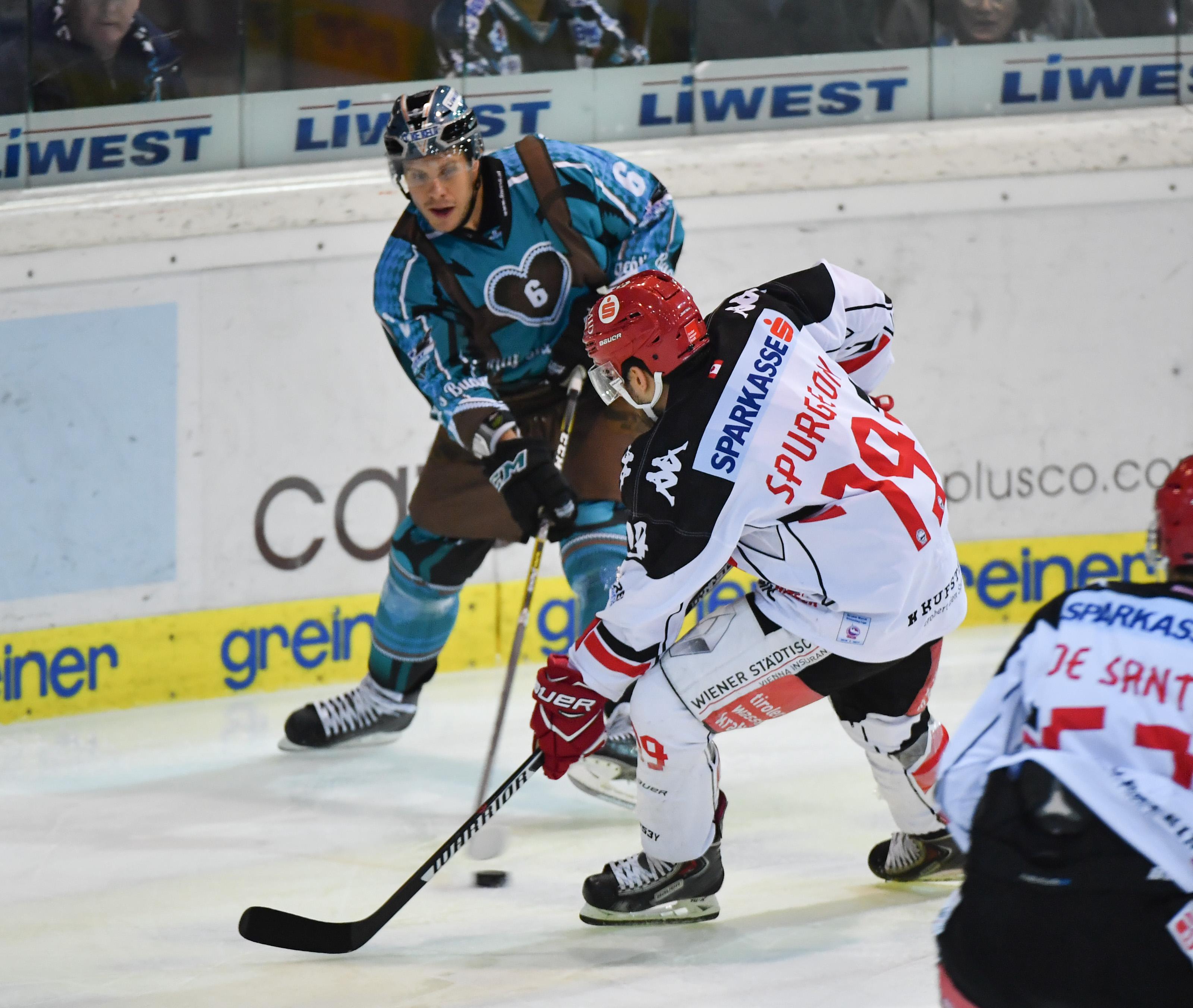 AUT, EBEL, Liwest Black Wings Linz vs HC TWK Innsbruck