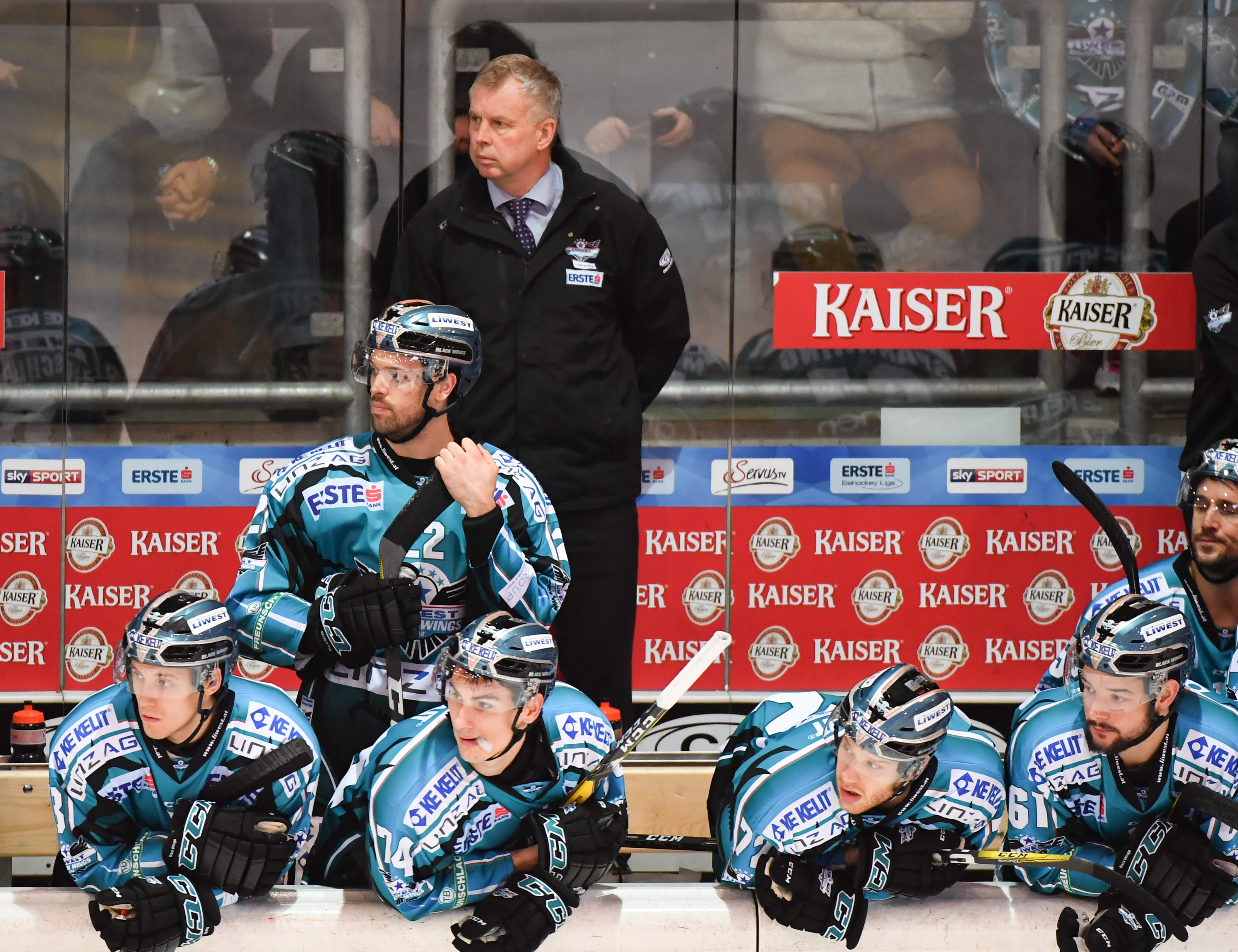 AUT, EBEL, Liwest Black Wings Linz vs Moser Medical Graz 99ers