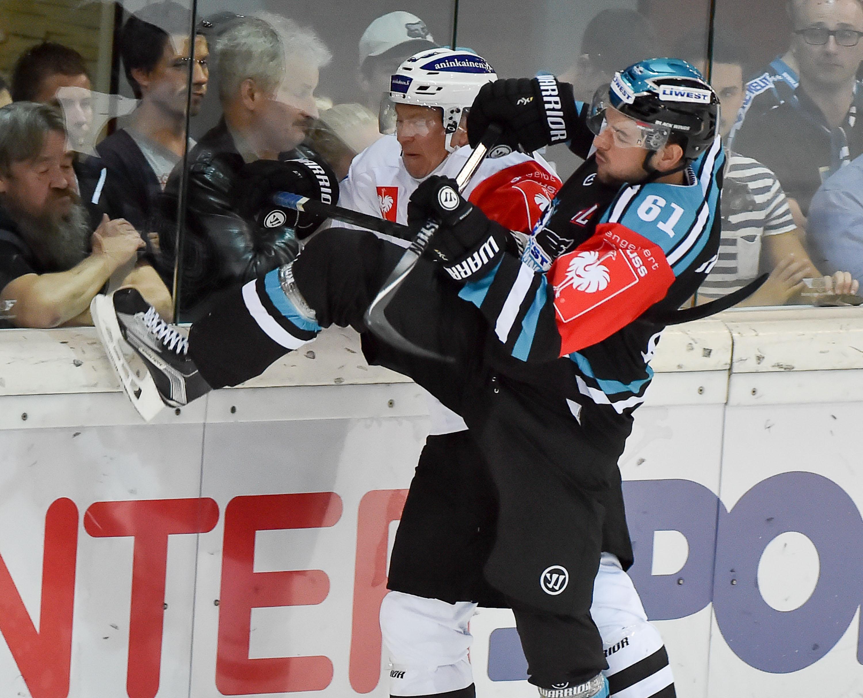 AUT, CHL, Liwest Black Wings Linz vs TPS Turku
