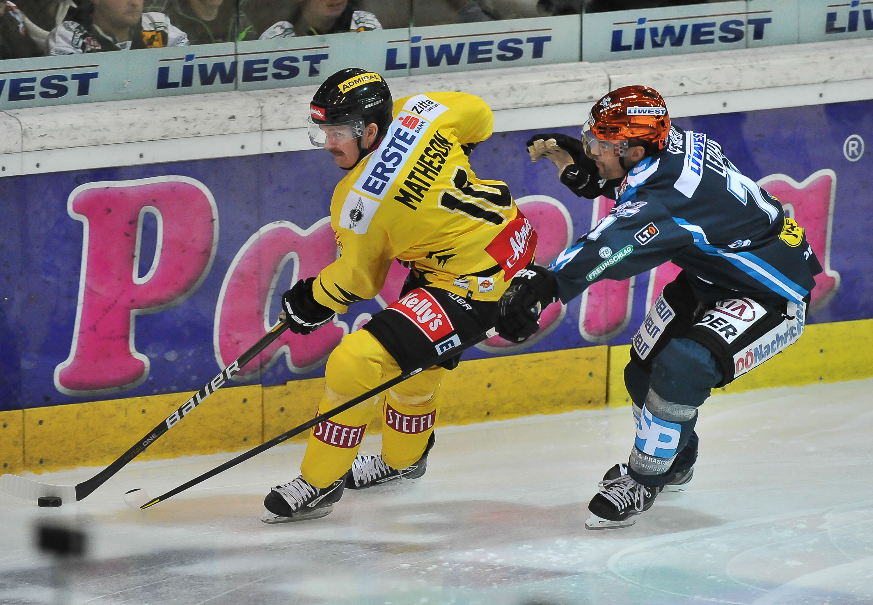 AUT, EBEL, Liwest Black Wings Linz vs UPC Vienna Capitels