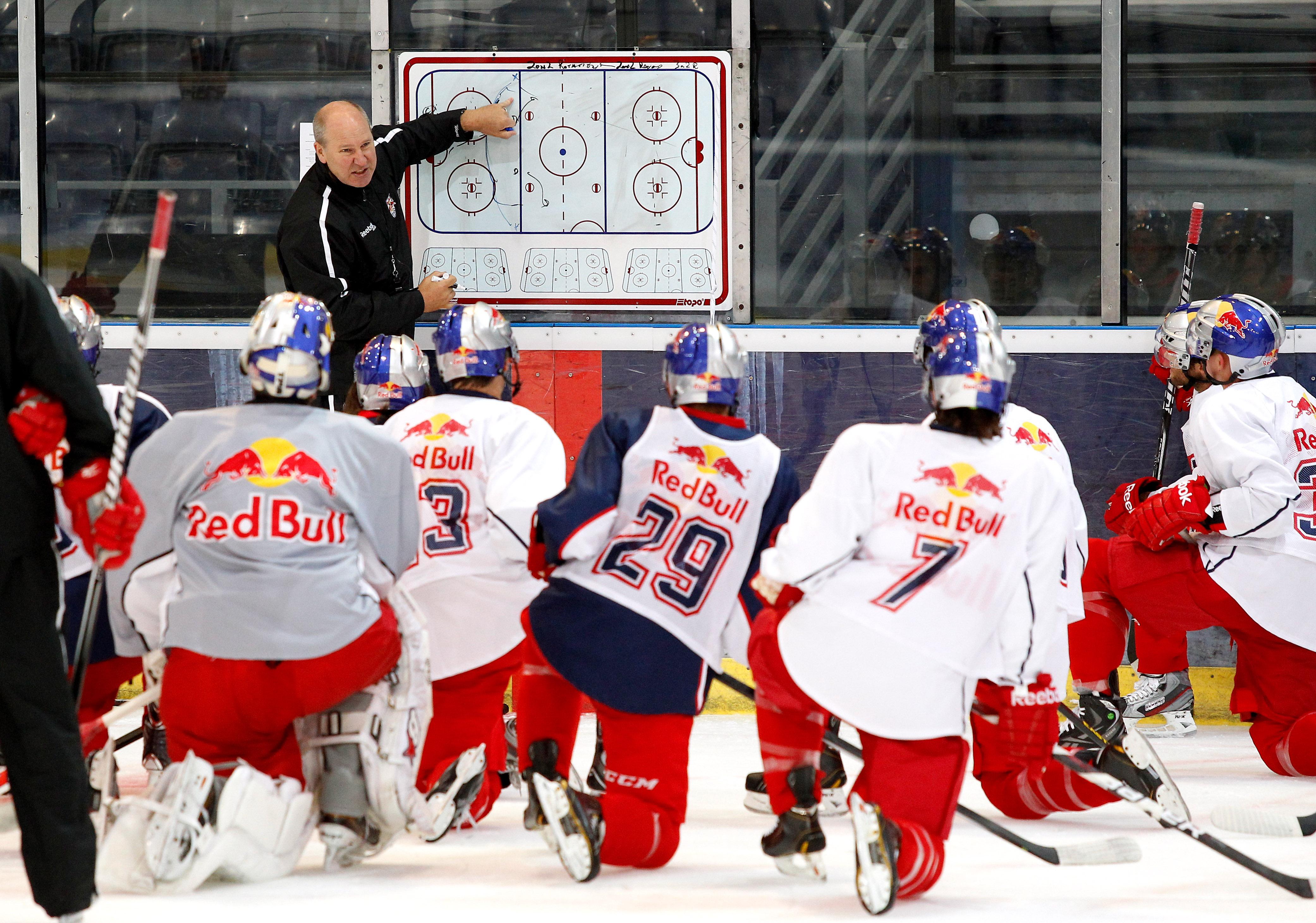 ICE HOCKEY – EC RBS, training