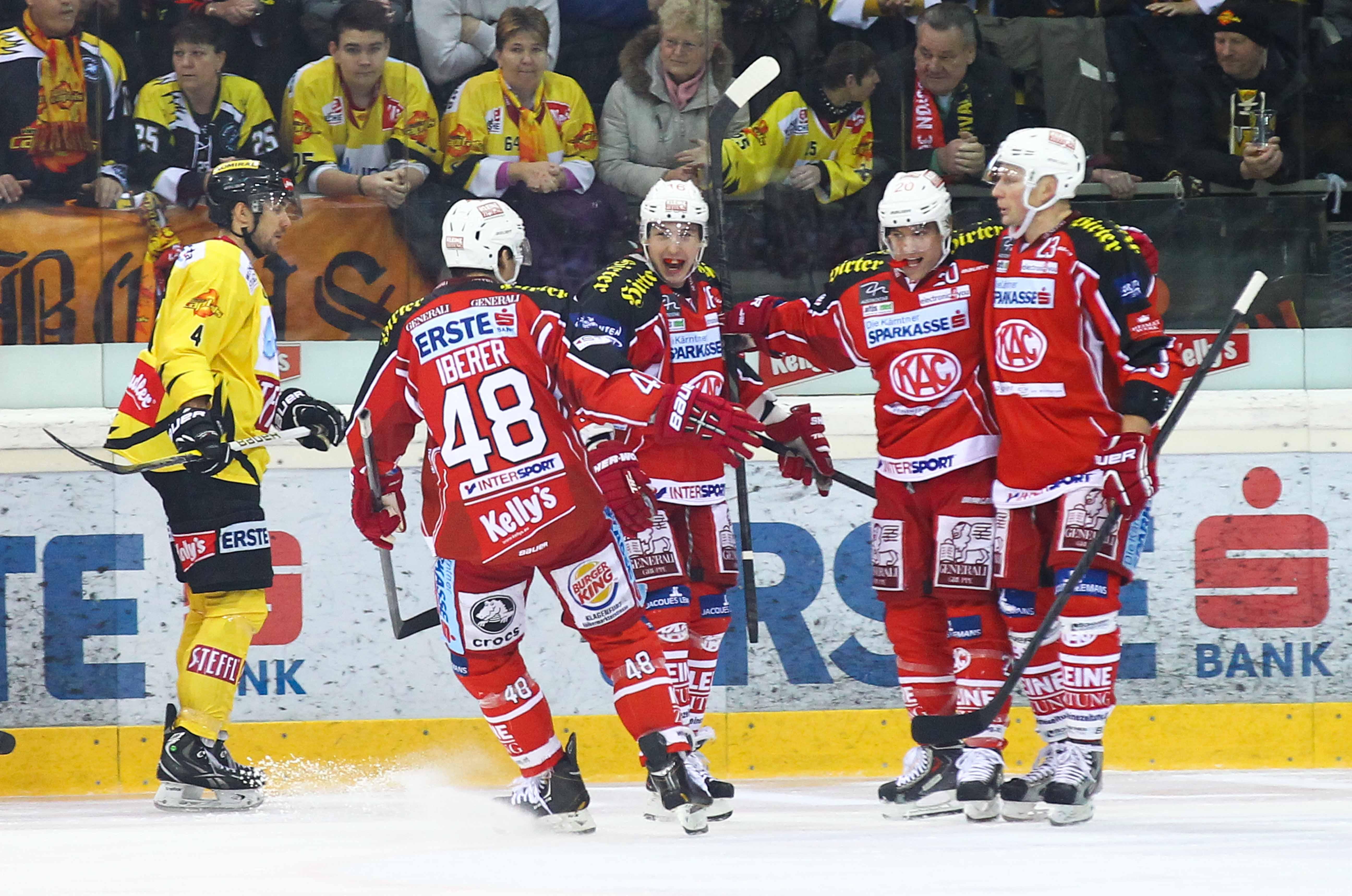 AUT, EBEL, UPC Vienna Capitals vs EC KAC