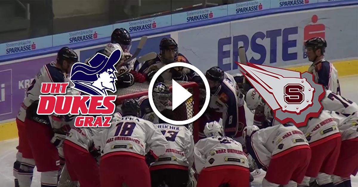 UHT-Dukes-Graz-gegen-Slavia-Bratislava-Video