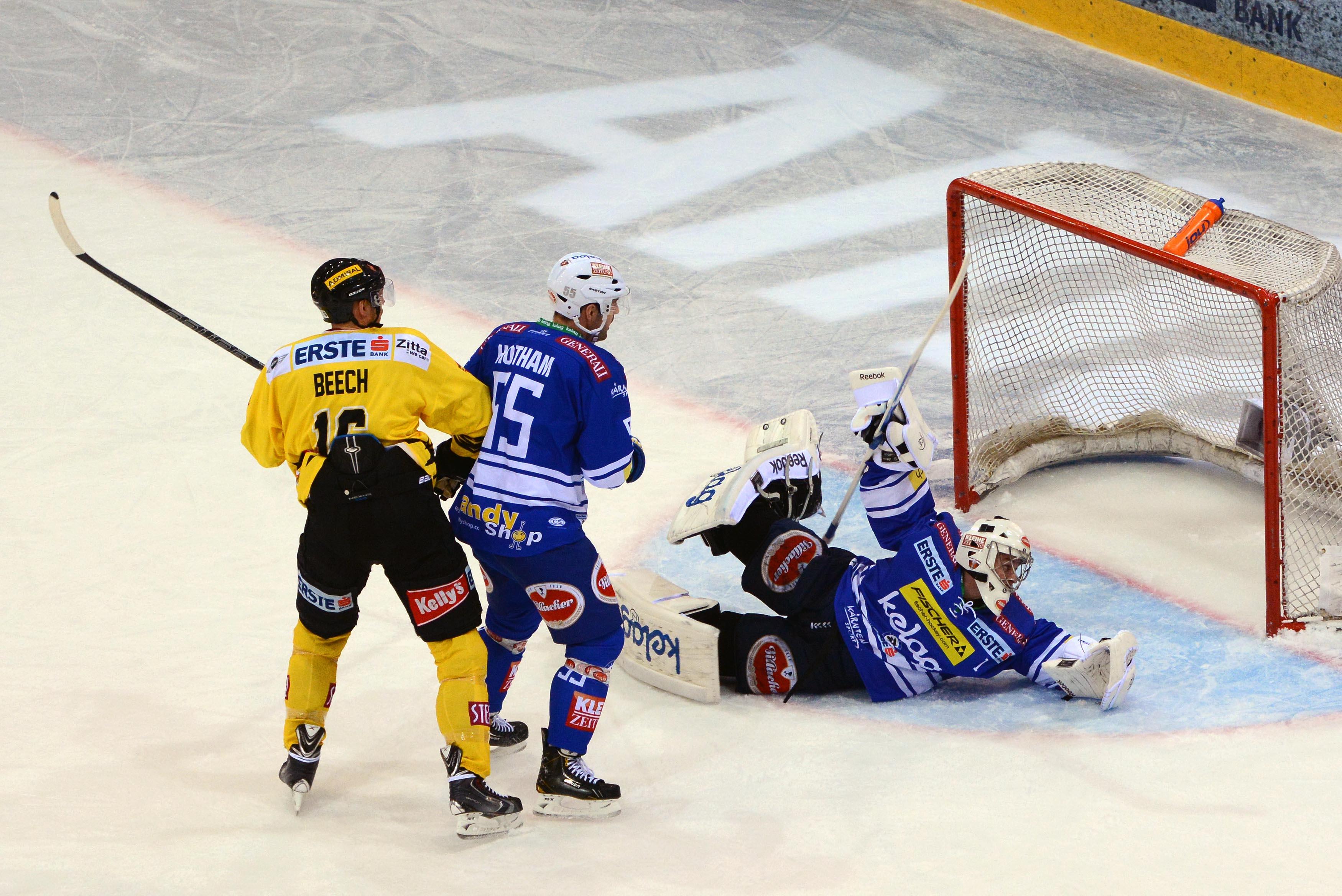AUT, EBEL, Eishockey, UPC Vienna Capitals vs. EC VSV