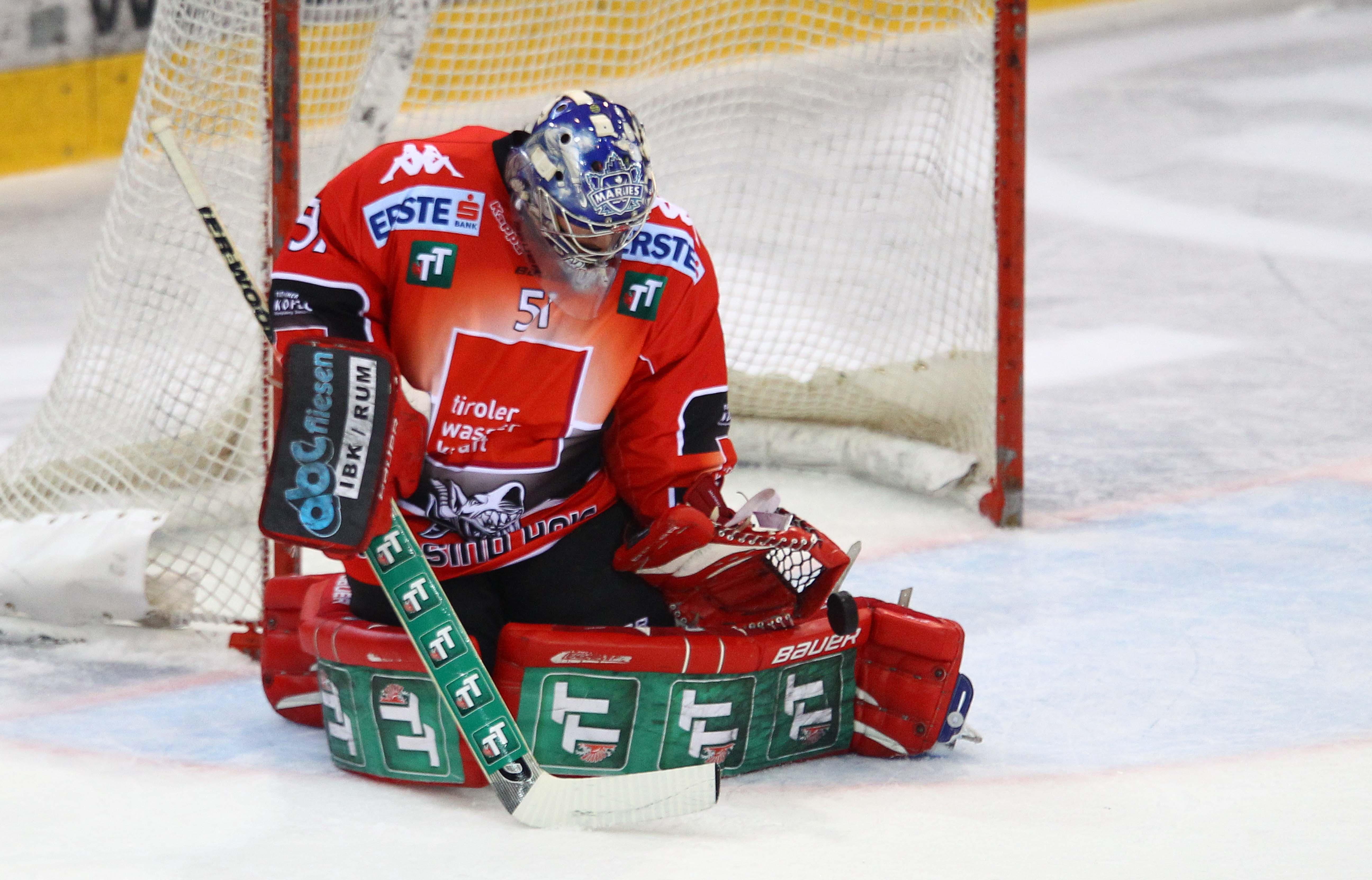 AUT, EBEL, UPC Vienna Capitals vs HC TWK Innsbruck