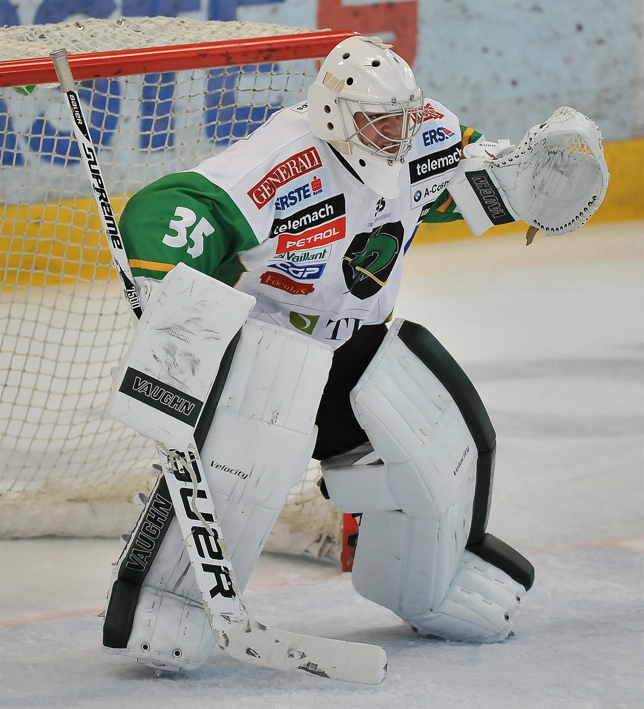 Eishockey Black Wings Linz vs Olimpija Ljubljana 09.09.2012 – Jerry Kuhn