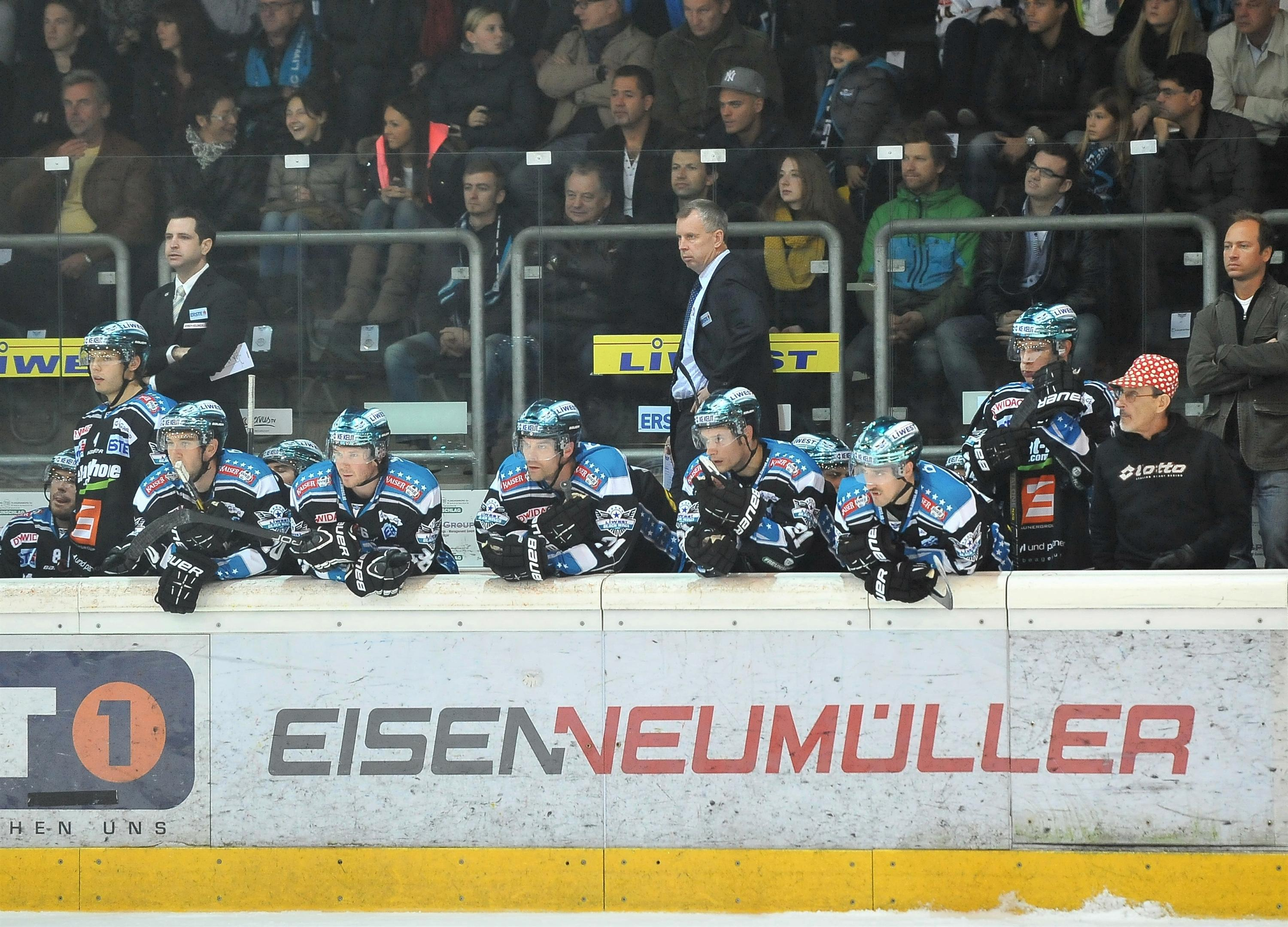 Eishockey Black Wings Linz vs KHL Medvescak Zagreb 26.10.2012 – Linzer Bank