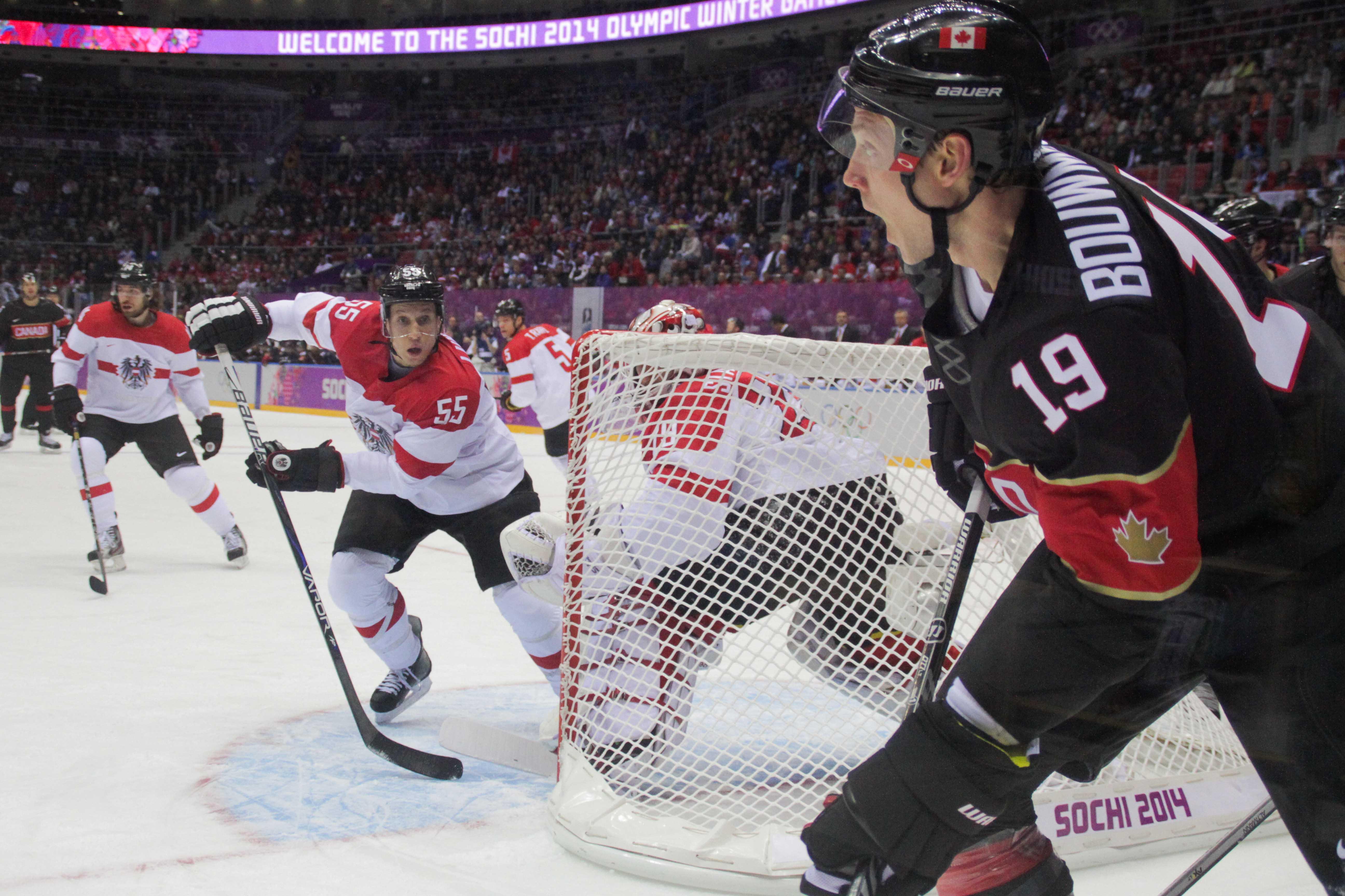 RUS, IIHF, CAN vs AUT, 14.02.2014