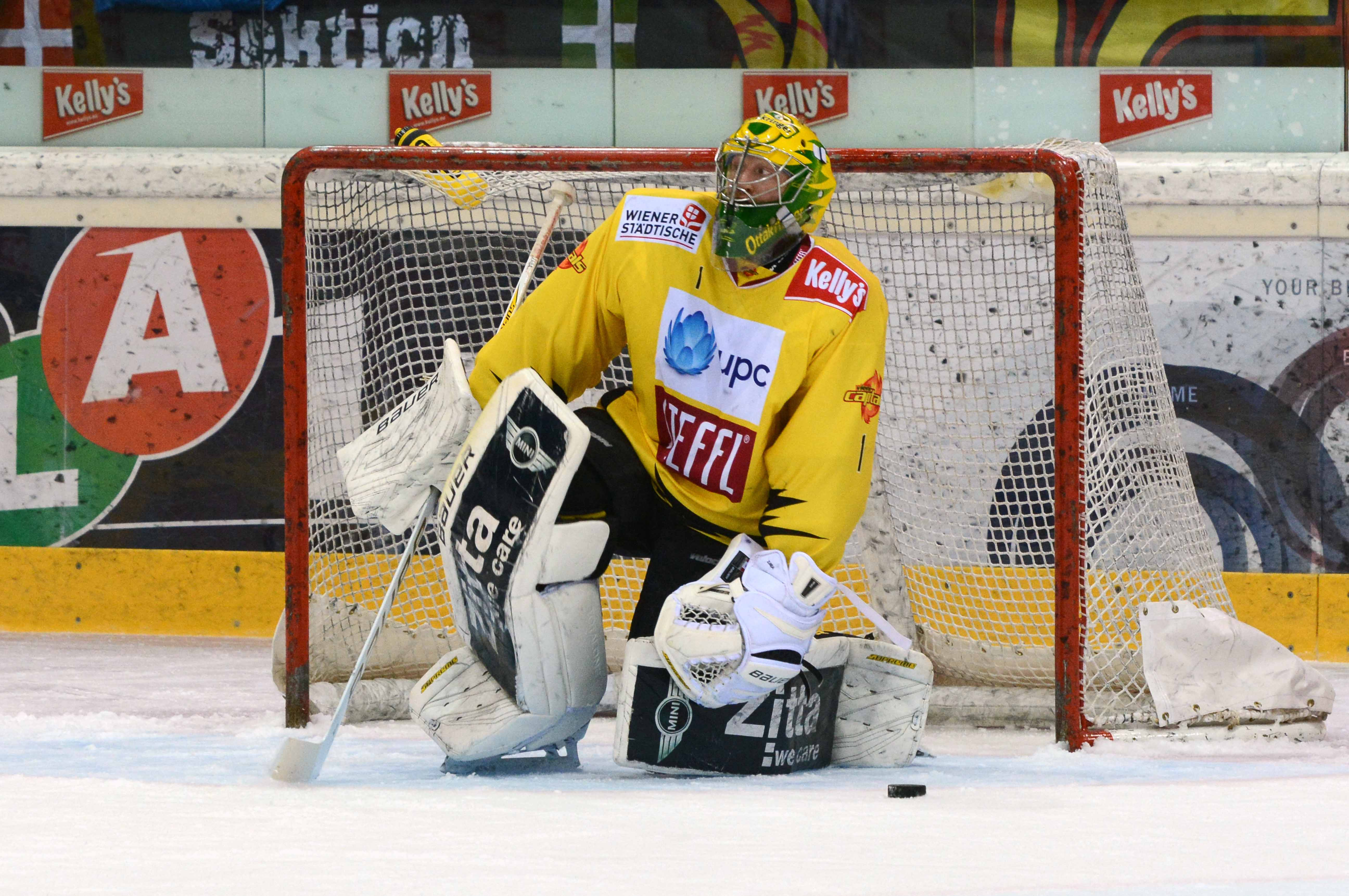 AUT, EBEL, UPC Vienna Capitals vs EHC Liwest Black Wings Linz
