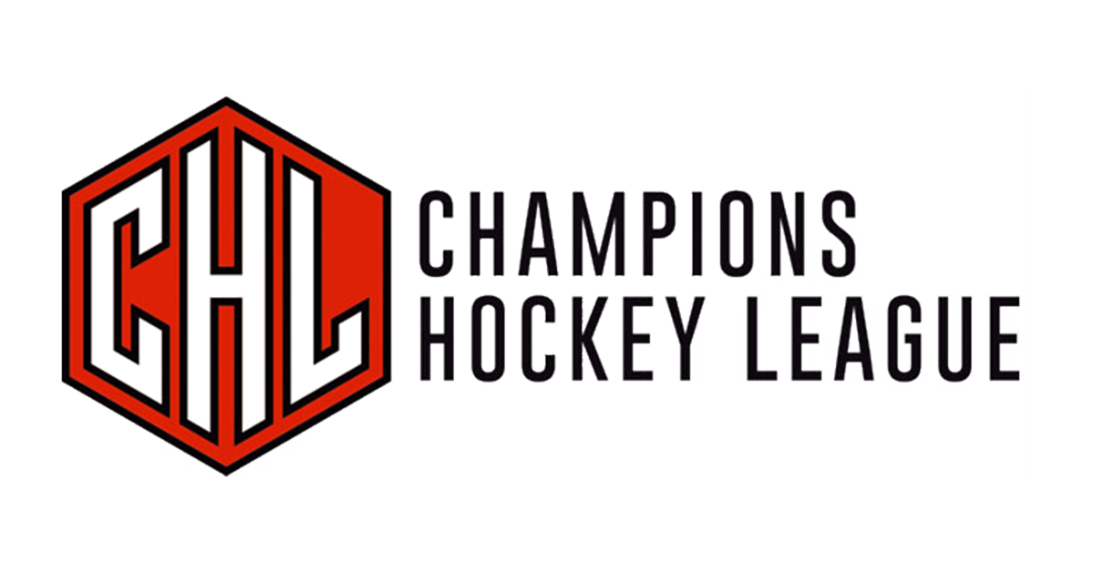 CHL Champions Hockey League Logo mit Text