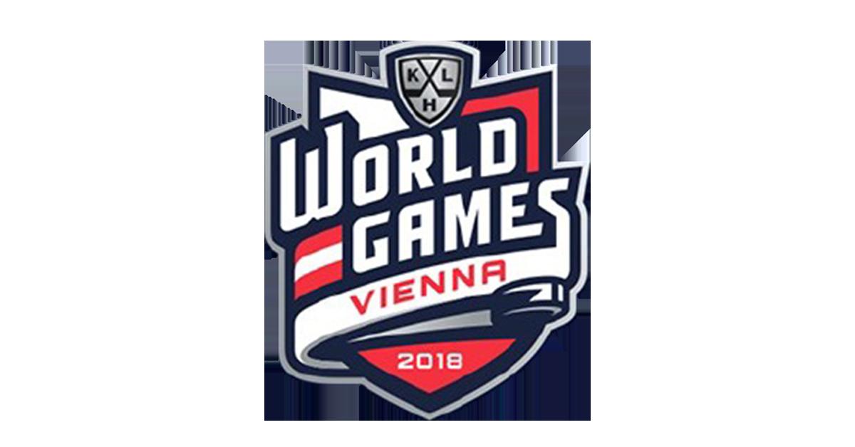 KHL Vienna World Games 2018 Logo
