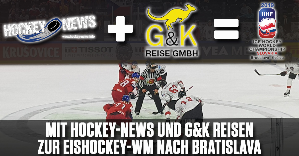 Mit Hockey-News und G&K Reisen