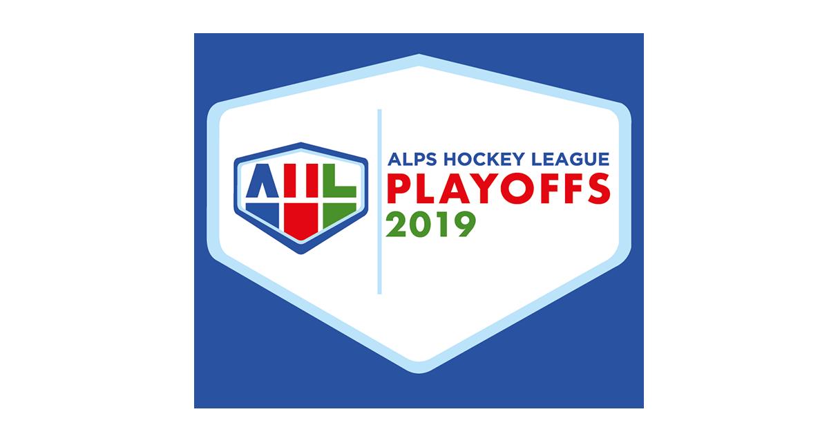 Alps Hockey League AHL 2019 Playoffs Logo