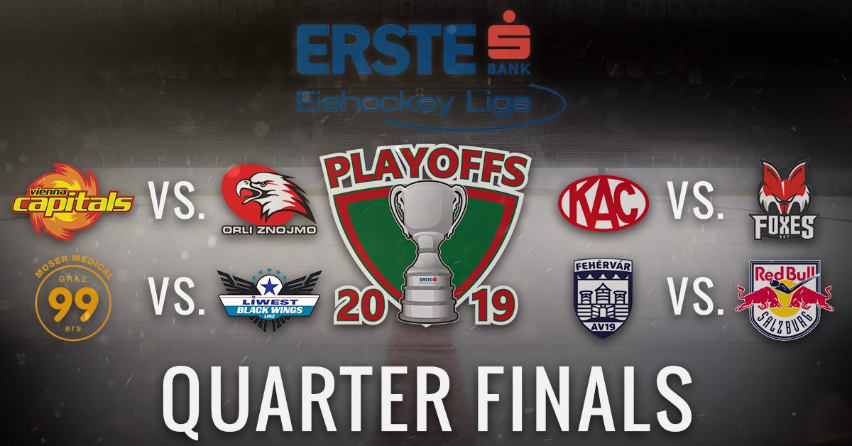 EBEL_Playoffs2019_QuarterFinals_Paarungen
