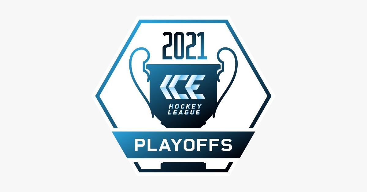 ICE Playoffs 2021 Logo